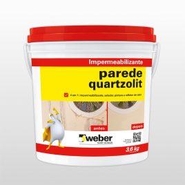 Impermeabilizante Parede (antigo anchorflex) 3,6L Quartzolit Weber.