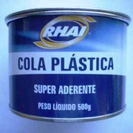 Massa plástica Rhai 500gr Cinza