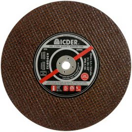 Disco de corte Ferro ICDER 10″