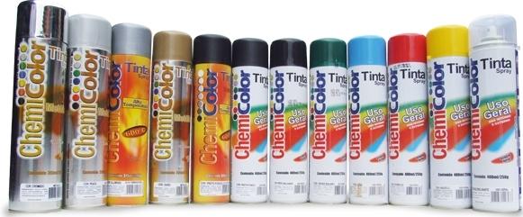 Tinta Spray Chemicolor