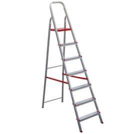 Escada de alumínio 7 degraus