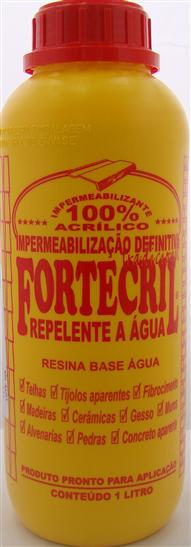 Impermeabilizante Fortecril 1 Litro
