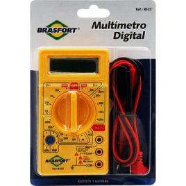 Multímetro digital com Alarme sonoro Brasfort.